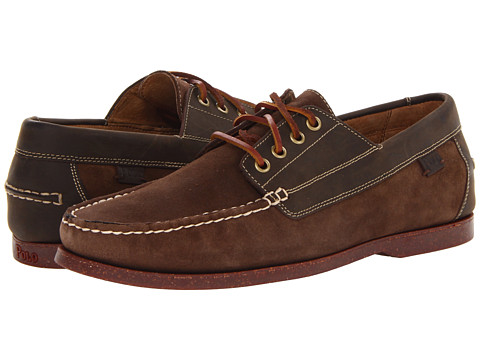Pantofi Polo Ralph Lauren - Blackley 4 Eye - Praline/Dark Brown