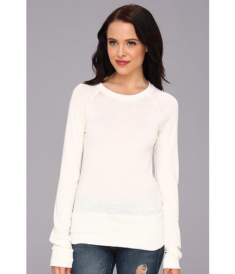 Bluze Alternative Apparel - Basic Raglan Top - Vintage White