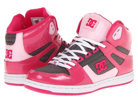 Adidasi DC - Rebound Hi SE W - Pink/Dark Grey