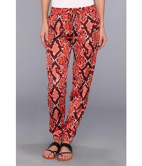Pantaloni MICHAEL Michael Kors - Snake Print Track Pant - Hot Coral