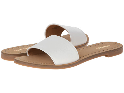 Sandale Nine West - Summers - White Leather