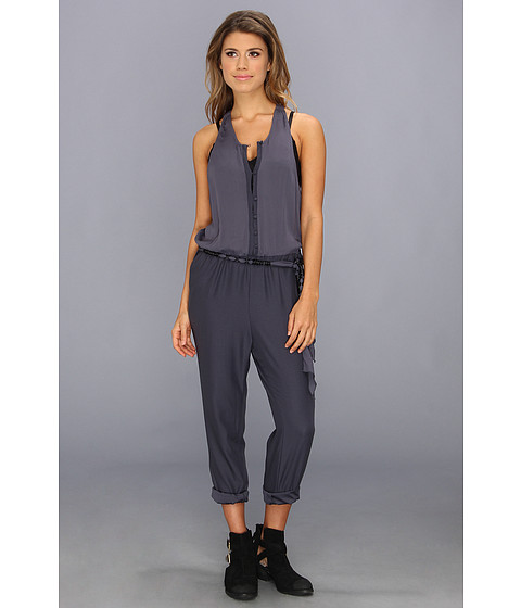 Pantaloni Free People - Angelica Romper - Storm Blue