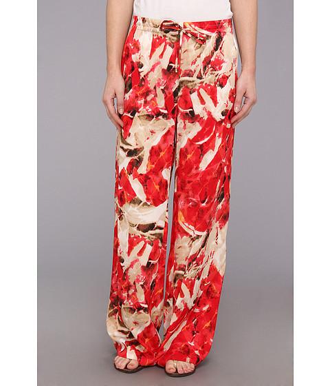 Pantaloni Calvin Klein - CDC Printed Drawstring Pant - Pink Multi