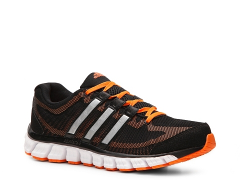 Pantofi adidas - Liquid Ride Lightweight Running Shoe - Mens - Black/Orange/Silver