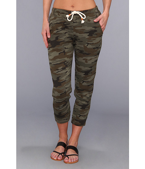 Pantaloni Lucky Brand - Camo Cropped Skinny Pant - Green Multi