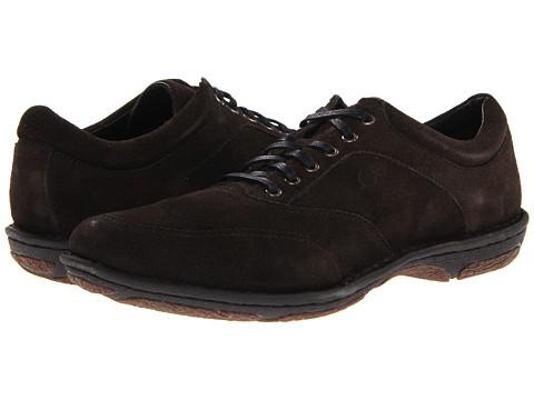 Pantofi Born - Conor - Petroleo (Dark Grey) Suede