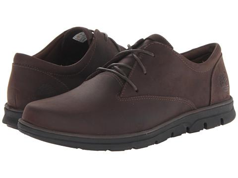 Pantofi Timberland - EarthkeepersÃ'® Bradstreet Plain Toe Oxford - Dark Brown Oiled
