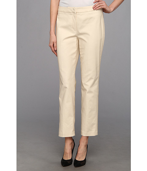 Pantaloni NIC+ZOE - The Perfect Pant - Front Zip Ankle - Sandshell
