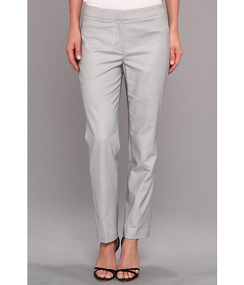 Pantaloni NIC+ZOE - The Perfect Pant - Front Zip Ankle - Pale Smoke