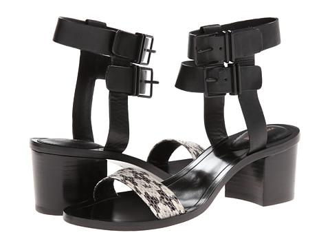 Pantofi Pour La Victoire - Dagney - Marble/Black Serpente/Vachetta