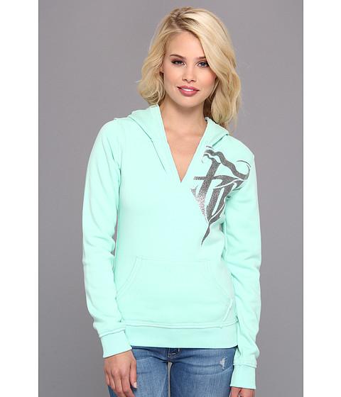 Bluze Fox - Abrasive Lush Hoody - Mint