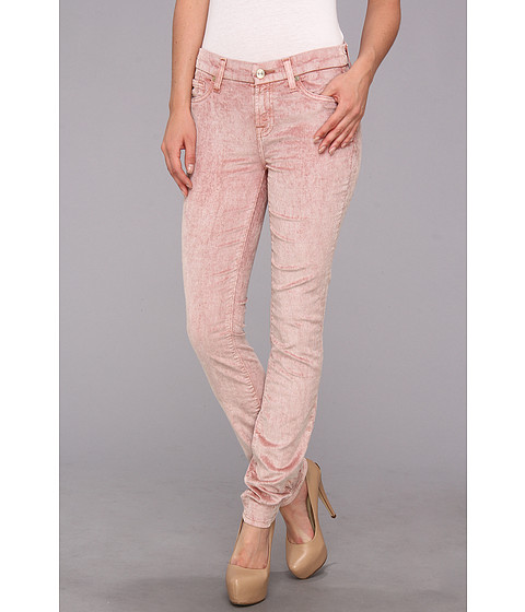 Pantaloni 7 For All Mankind - The Skinny w/ Contoured Waistband in Black Rose - Black Rose
