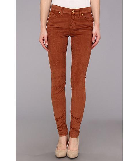 Pantaloni 7 For All Mankind - The Skinny w/ Contoured Waistband in Hazlenut - Hazlenut