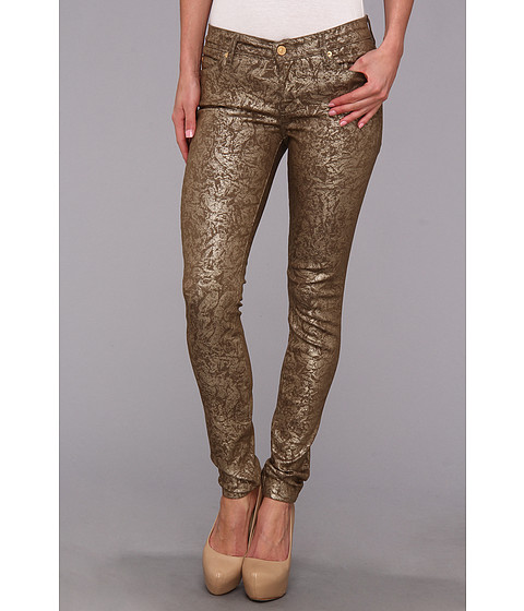 Blugi 7 For All Mankind - The Skinny in Leaf Gold Light - Leaf Gold Light