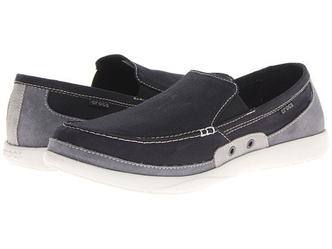 Pantofi Crocs - Walu Accent Loafer - Black/Charcoal
