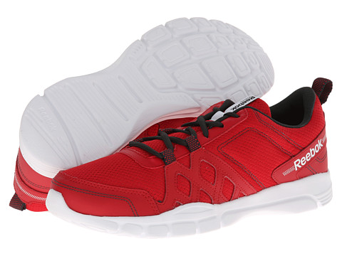 Adidasi Reebok - Trainfusion RS 3.0 Leather - Excellent Red/Gravel/White