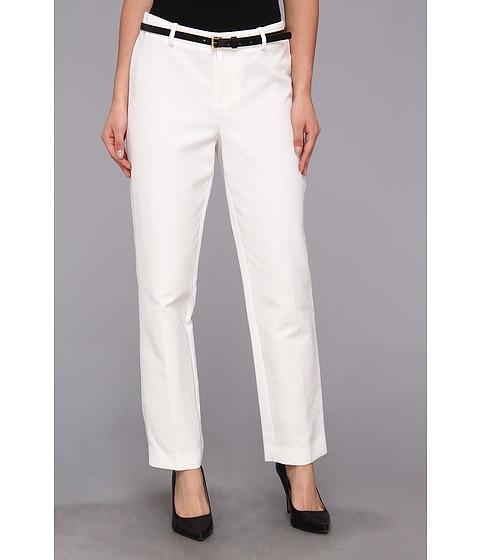 Pantaloni Calvin Klein - Jacquard Pant - Ivory