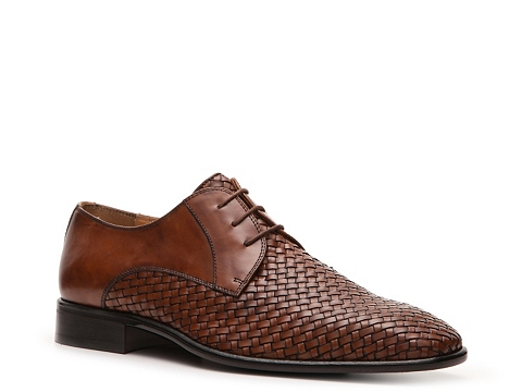 Pantofi Mercanti Fiorentini - Woven Oxford - Brown