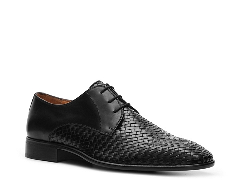 Pantofi Mercanti Fiorentini - Woven Oxford - Black
