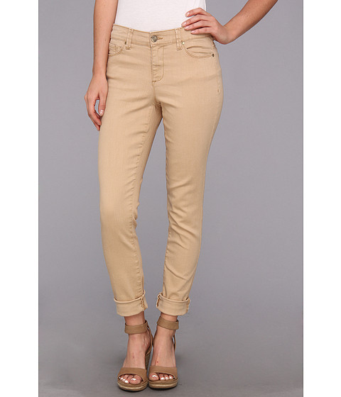 Blugi Anne Klein New York - Leo Skinny Jean Roll Cuff in Oak - Oak