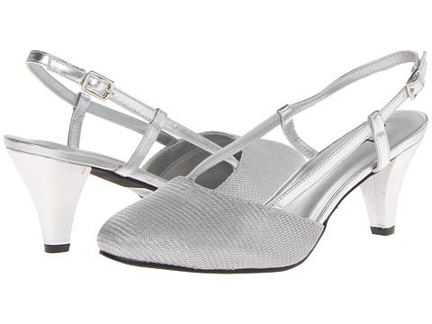 Pantofi Annie - Willow - Silver Metallic Mesh