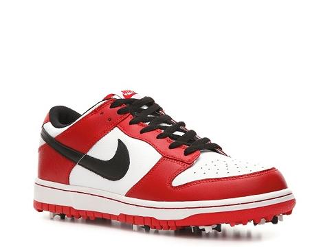 Pantofi Nike Golf - Nike Dunk NG Golf Shoe - Mens - Red/White/Black