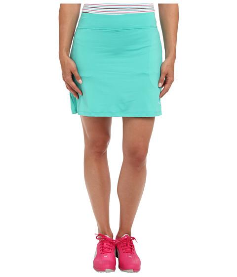 Fuste PUMA - Solid Knit Golf Skirt \14 - Pool Green