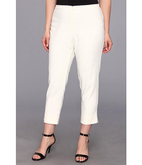 Pantaloni Karen Kane - Plus Size Capri - Cream