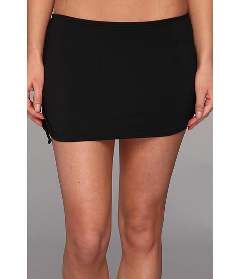 Costume de baie DKNY - Brigitte Solids Side Tie Skirted Bottom - Black
