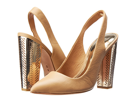 Pantofi COACH - Finley - Light Camel Tonal Wash Leather