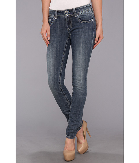 Blugi VIGOSS - Skinny Kissg V Rhstn in Light Wash - Light Wash