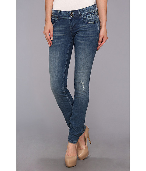 Blugi VIGOSS - Skinny Top Rhnstn V in Light Wash - Light Wash