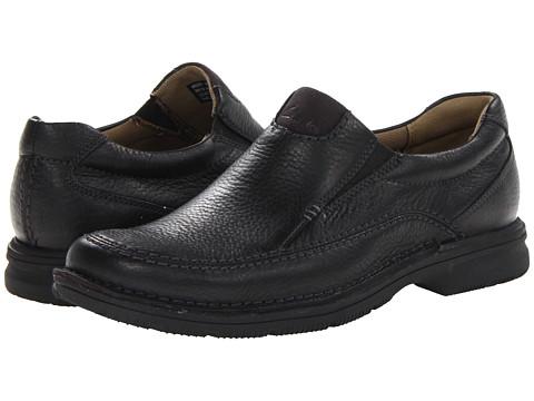 Pantofi Clarks - Senner Lane - Black Tumbled Leather
