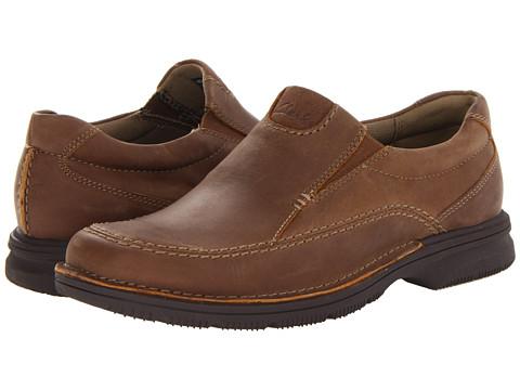 Pantofi Clarks - Senner Lane - Tan Nubuck