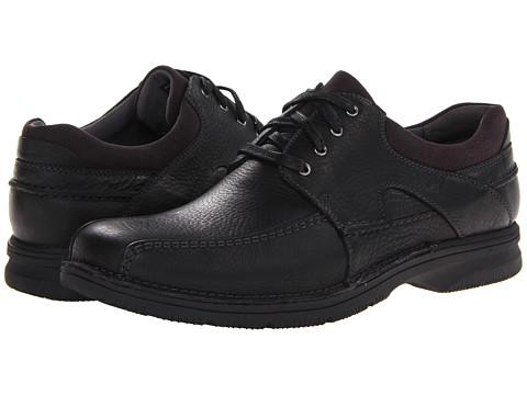 Pantofi Clarks - Senner Blvd - Black Tumbled Leather