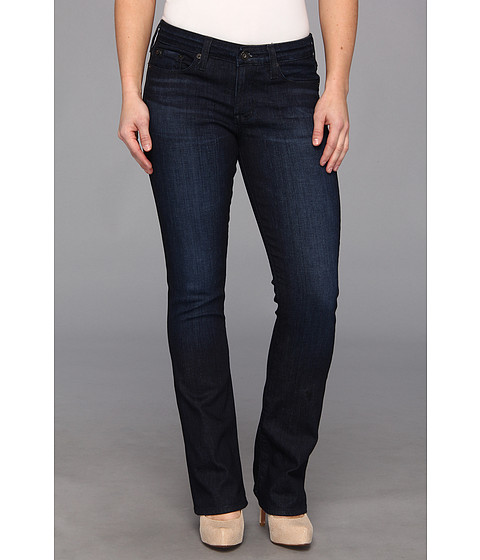 Blugi Big Star - Petite Sarah Mid Rise Slim Bootcut Jean in Holly Midnight - Holly Midnight