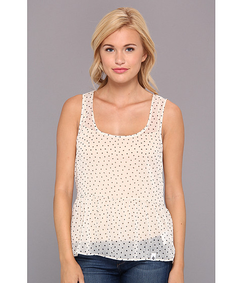 Bluze Volcom - Square Dot Tank - Cream