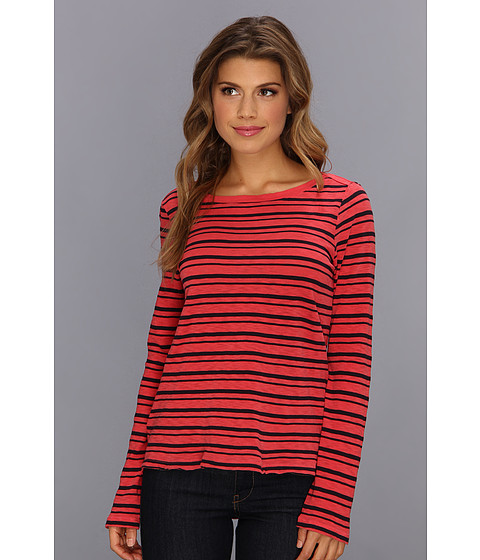 Bluze Splendid - Vintage Coastal Stripe Long Sleeve - Grenadine