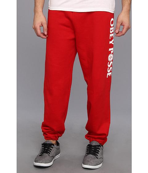 Pantaloni Obey - Bandera Pant - Red