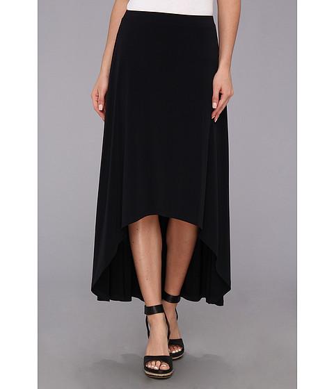 Fuste MICHAEL Michael Kors - Matte Jersey High Low Hem Skirt - Navy