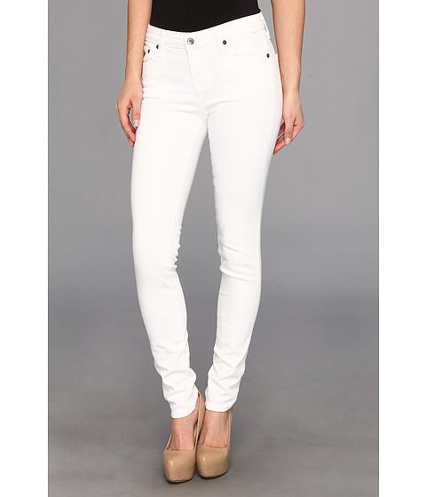 Blugi Big Star - Alex Midrise Skinny Jean in White - White