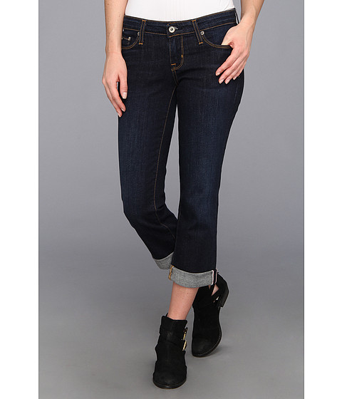 Blugi Big Star - Rikki Crop Low Rise Straight Jean in Andalusia - Andalusia