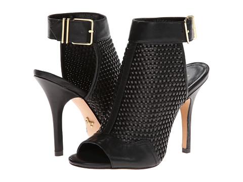 Pantofi Pour La Victoire - York - Black Woven Leather/Calf