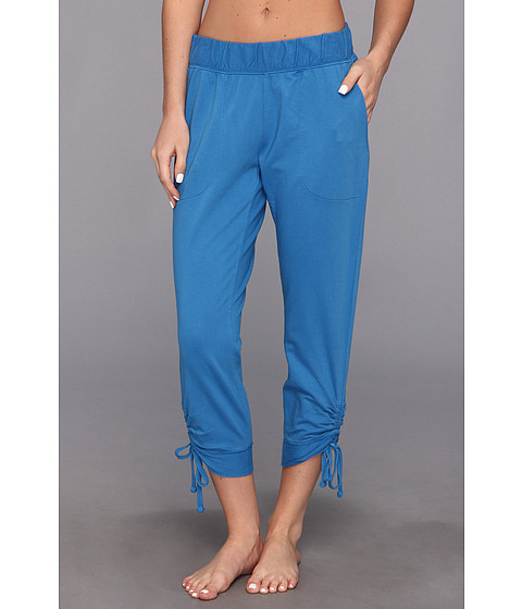 Pantaloni DKNY - Pull On Sweatpant with Ankle Ties - Sea Blue