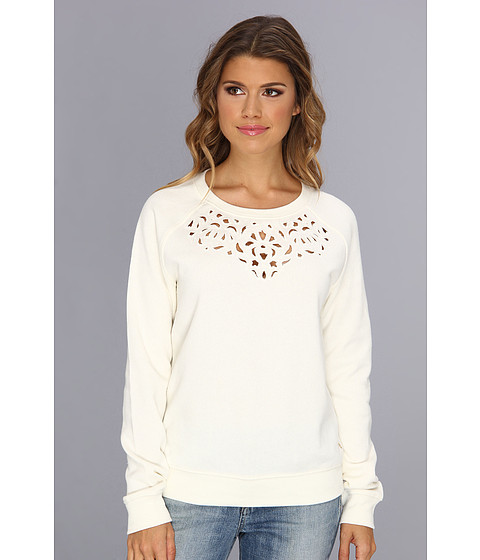 Bluze Juicy Couture - Embellished Cut Out Pullover - Angel