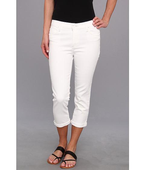 Blugi Calvin Klein - Cropped Boyfriend in White - White