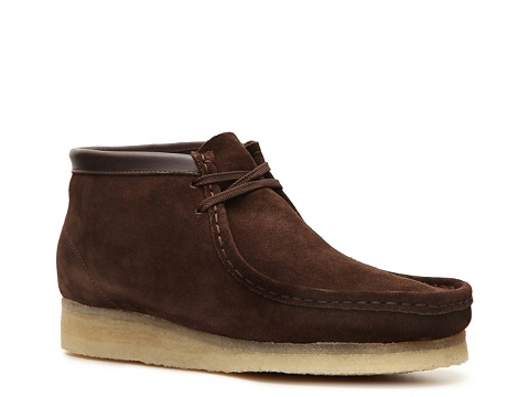 Pantofi Clarks Originals - Wallabee Chukka Boot - Brown