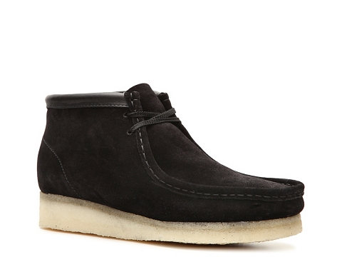 Pantofi Clarks Originals - Wallabee Chukka Boot - Black