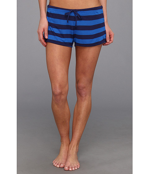 Costume de baie Splendid - Marcel Stripe Short Cover-Up - Navy/Blue