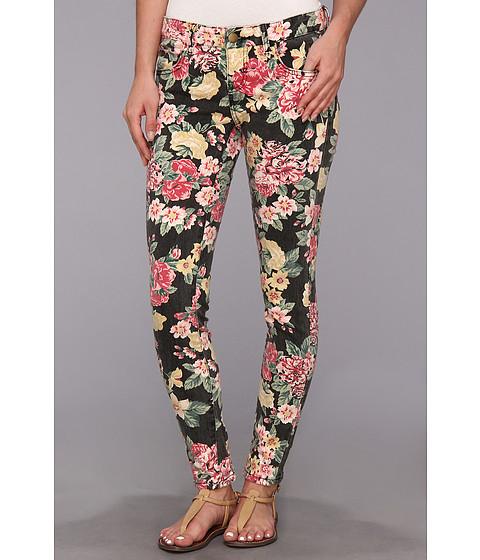 Blugi Billabong - Seeker Vintage Flora Jean - Off Black